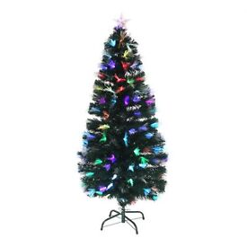 SOLD 5ft Fibre Optic Christmas Tree