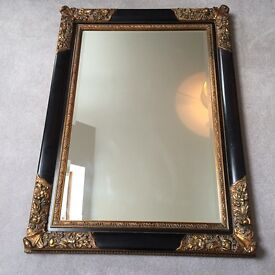 Large Antique style vintage mirror