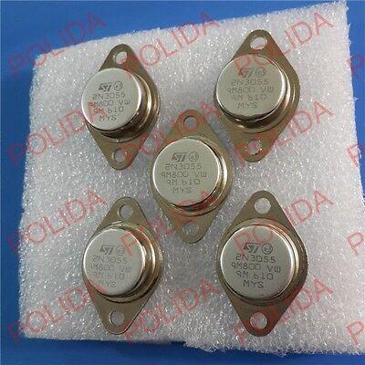 10pcs Transistor St To-3 2n3055 Npn Af Amp Audio Power Transistor 15a60v