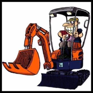 DIGGERMATE Mini Excavator Hire $195p/d