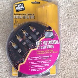 Monster cable Hi8/s-VHS to TV Cambridge Kitchener Area image 1