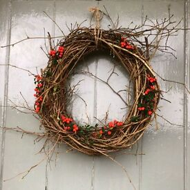 Hazel Christmas wreaths