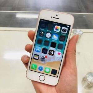 GOOD CONDITION IPHONE SE 64GB ROSE GOLD INVOICE UNLOCKED Surfers Paradise Gold Coast City Preview