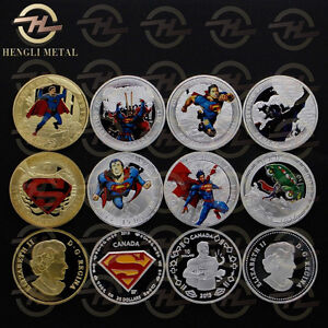 SUPERMAN COINS - FOR EVERY COIN COLLECTOR