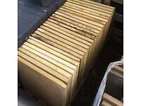 Bradstone Liscia Cream slabs 450x450 X 25