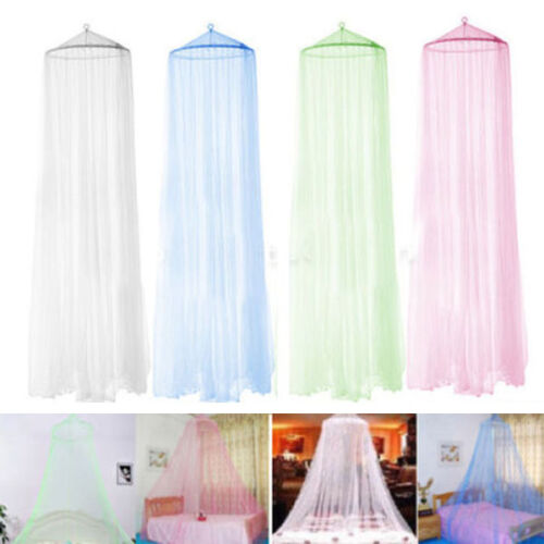 Mosquito-Net-Bed-Canopy-Netting-Curtain-Dome-Fly-Midges-Insect-Stopping-Outdoor