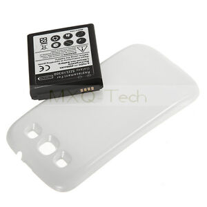 4500mAh-Extended-Battery-White-Back-Cover-For-Samsung-Galaxy-S3-SIII-i9300-NEW