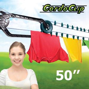 Corde à linge automatique 50' CORD-O-Clip automatic clotheslines