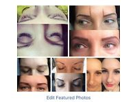 Microblading, cosmetics tatto, Lashes, waxing