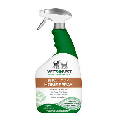 Vet's Best Natural Flea and Tick Home & Dogs Spray  & Mosquito Repellent