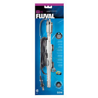 Fluval M series 50 Watt Submersible Aquarium Heaters.[new]
