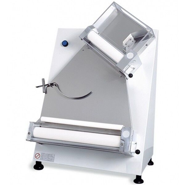 """PIZZA DOUGH ROLLER SHEETER WITH 2 PAIRS OF ROLLERS DIAMETER 16"""" ROLLING MACHINE"""