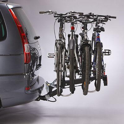 Portador En Enganche Plegable - 4 Bicicletas - 60 Kgs Max -...