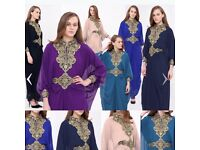 Abaya, kaftan, hijab