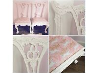 Beautifully Upcycled Vintage Unicorn Chair for little girls room