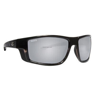Spiderwire Dark Shadow Eyewear Gloss Black Frame Sm//Grn Mirror Lens SSGDSGBL-SGM