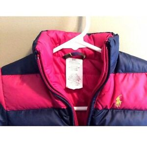 RALPH LAUREN Polo REVERSIBLE Down Puffer Coat Jacket 18 Mo. Girl Windsor Region Ontario image 2