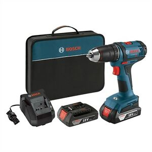 "Bosch 18-Volt 1/2"" Cordless Compact Drill/Driver. NEW in BOX."