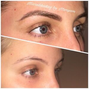 HAIR STROKE EYEBROWS ($279 holiday special) Cambridge Kitchener Area image 1