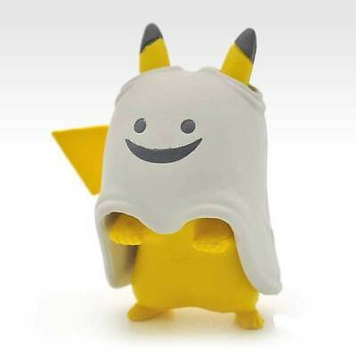 Ghost Pokemon Halloween (Pokemon Happy Halloween Pikachu White Ghost Ver Character Mini Toy Figure)