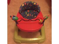 FREE baby walker and bouncer. Separate or together.