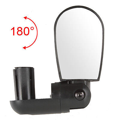 ROBESBON 360 Degree Adjustable Bicycle Reflector Riding Safety Rear View Mirror