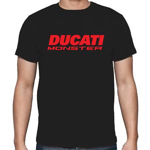 T-shirt-Camiseta-estilo-DUCATI-monster-motos-motorbike-S-XL