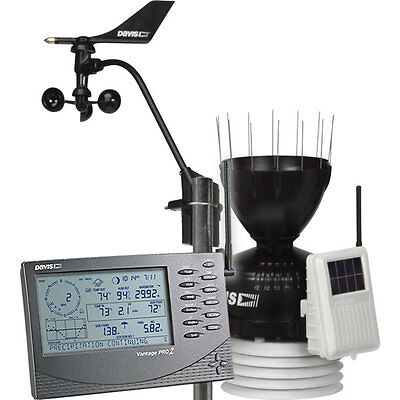 Davis 6152 Wireless Vantage Pro2 Weather Station Pro 2 - New 2018 Model