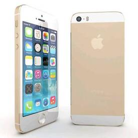 Iphone 5s gold /silver 32gb unlocked