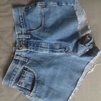 Trendy High Waisted Shorts