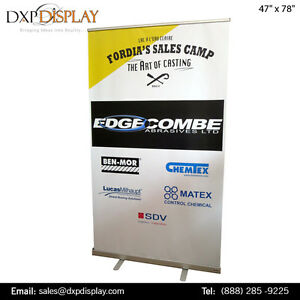 Retractable Banner Stand Toronto