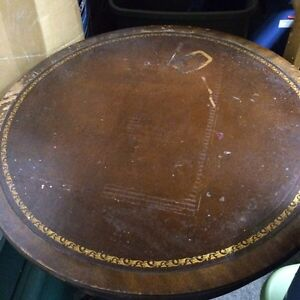 Duncan Phyfe drum table