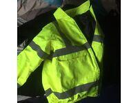 Pro Force High Vis Coat MENS LARGE