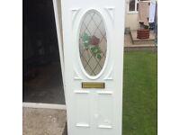 New pvc door panel
