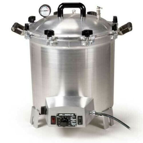 All American 41 Quart Benchtop Sterilizer - 120 volt - IN STOCK TO SHIP NOW