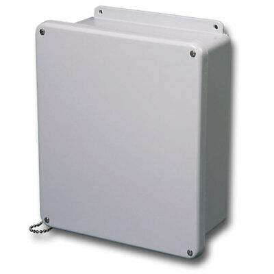 Stahlin Electrical Fiberglass Enclosurej1212w Jic 4x 12x12x6 Fg W With Panel