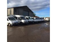 Ford transit and Iveco daily tippers and dropsides Citroen dispatch transit mini bus
