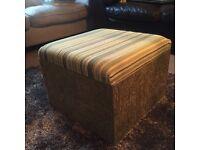 Storage box/ small ottoman
