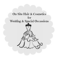 On-Site Hair & Cosmetics - Weddings & Special Occassions