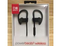 Power beats 3 wireless earphones with instant 2 and half years warranty