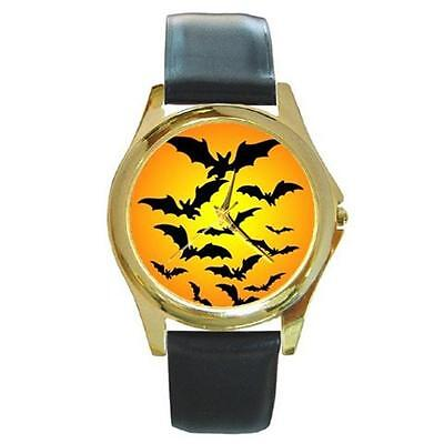ST MOON GOLD-TONE WATCH 4 OTHER STYLES SILVER SPORTS CHARM (Watch Halloween 4)