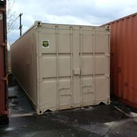 Painted quality Sea Container : all sizes!