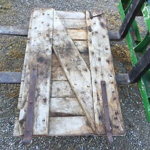 Reclaimed barn door starting at $100 London Ontario image 2