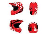 Fox v1 helmet (quad,bike) helmet