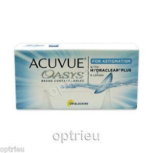 Acuvue oasys for Astigmatism 2 x 6  Sonderangebot