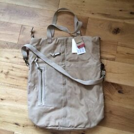 Reebok canvas bag, many ways. Unisex. Very spacious and stylish. Good for gym and casual