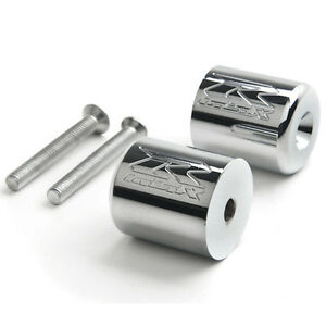 "Chrome Suzuki ""GSXR"" Engraved Bar Ends Weights Sliders - GSXR 60 Oakville / Halton Region Toronto (GTA) image 1"