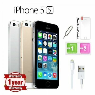 Apple iPhone 5s -16GB / 32GB Unlocked UK Cheap price iphone 5s 1 YEAR Warranty