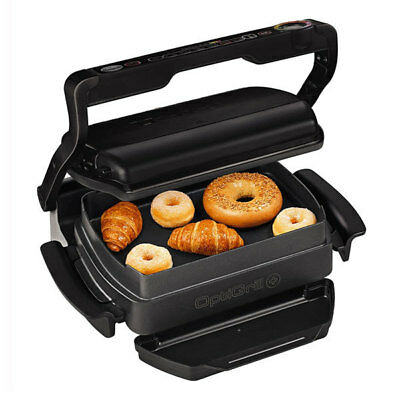 TEFAL GC 7148 Optigrill+ Snacking & Baking Kontaktgrill schwarz 2.000 Watt