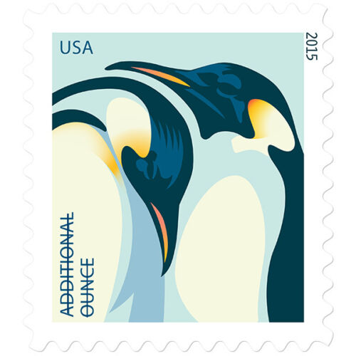 New USPS Penguins Coil of 100
